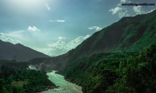 Overlooking Satluj Valley