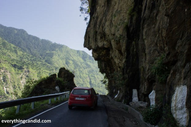 Road to Kinnaur