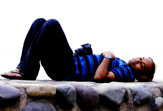 Relaxing at Sukhna Lake, Chandigarh