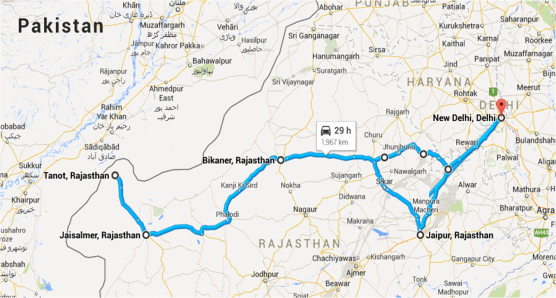Quick View: Self Drive road trip to Rajasthan covering ...