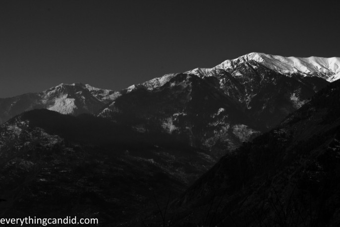 Naggar Town from Roerich House 3