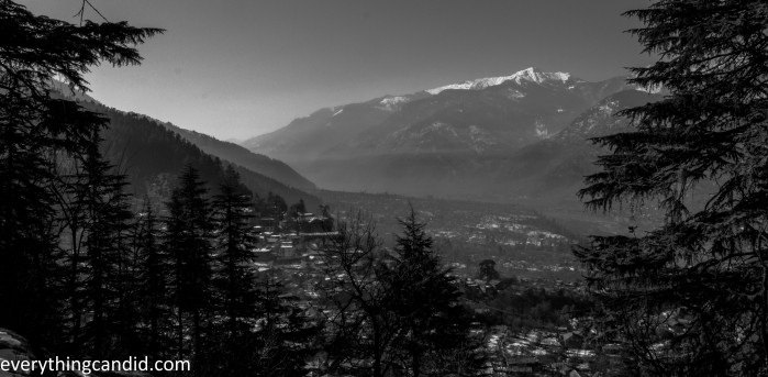 Naggar Town from Roerich House