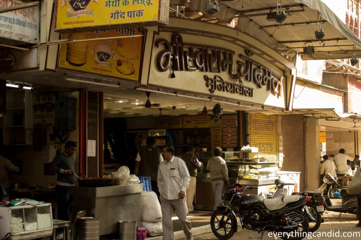 Oldest shop and directly associated with the Father of bikaneri Bhujia