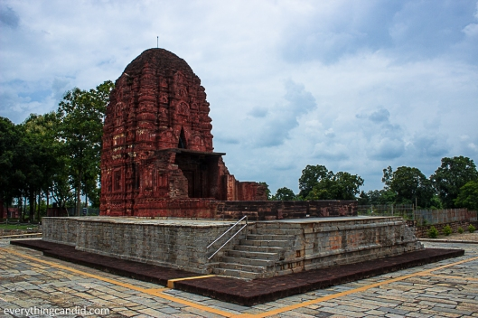 Laxman Temple at Siroour, A 7th Century AD Temple: One of the best birck temple.
