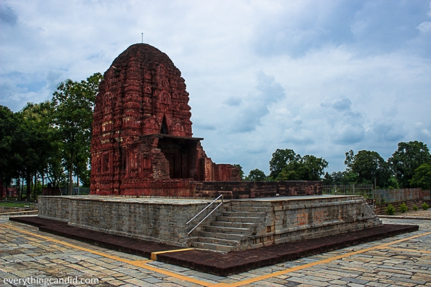 Laxman Temple at Sirpur, A 7th Century AD Temple: One of the best birck temple.