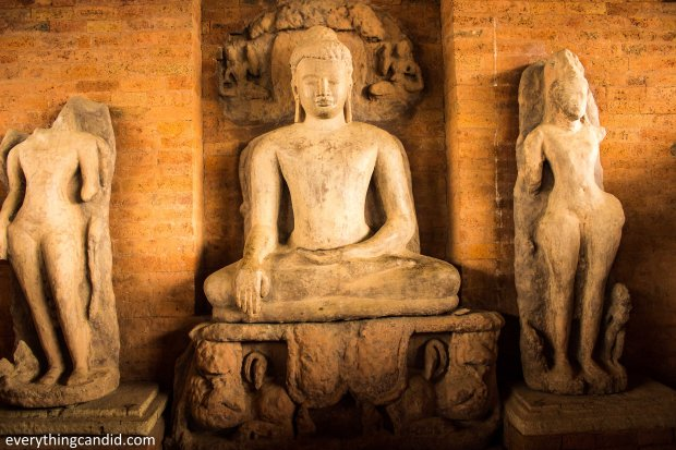 Lord Buddha: Teevardev Monestary at Sirpur