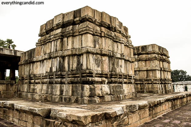 Flat Roof Top of Battisa Temple, Barsur, Chhattisgarh