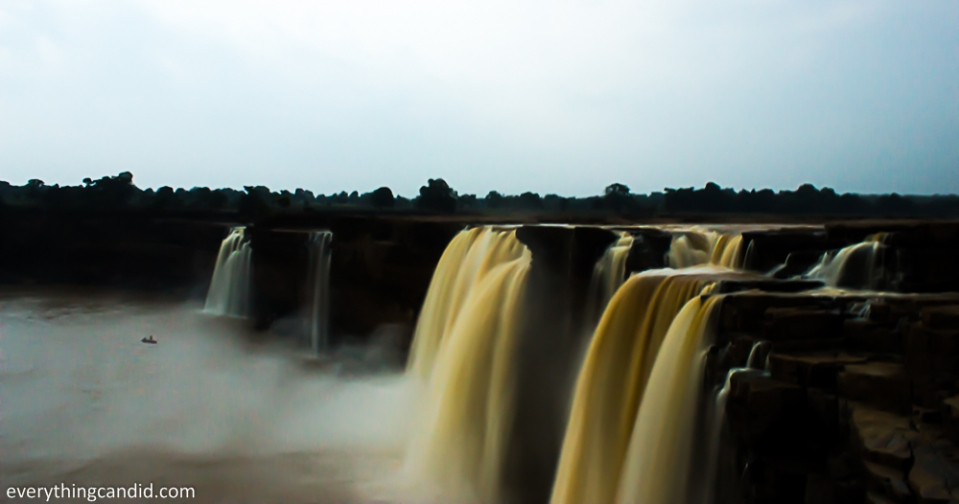 Chitrakote Fall in Bastar, Chhattisgarh. India's largest waterfall.
