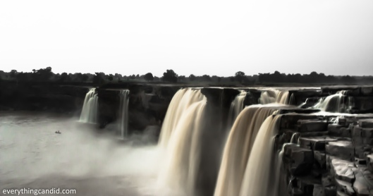 Chitrakote Fall at Twilight