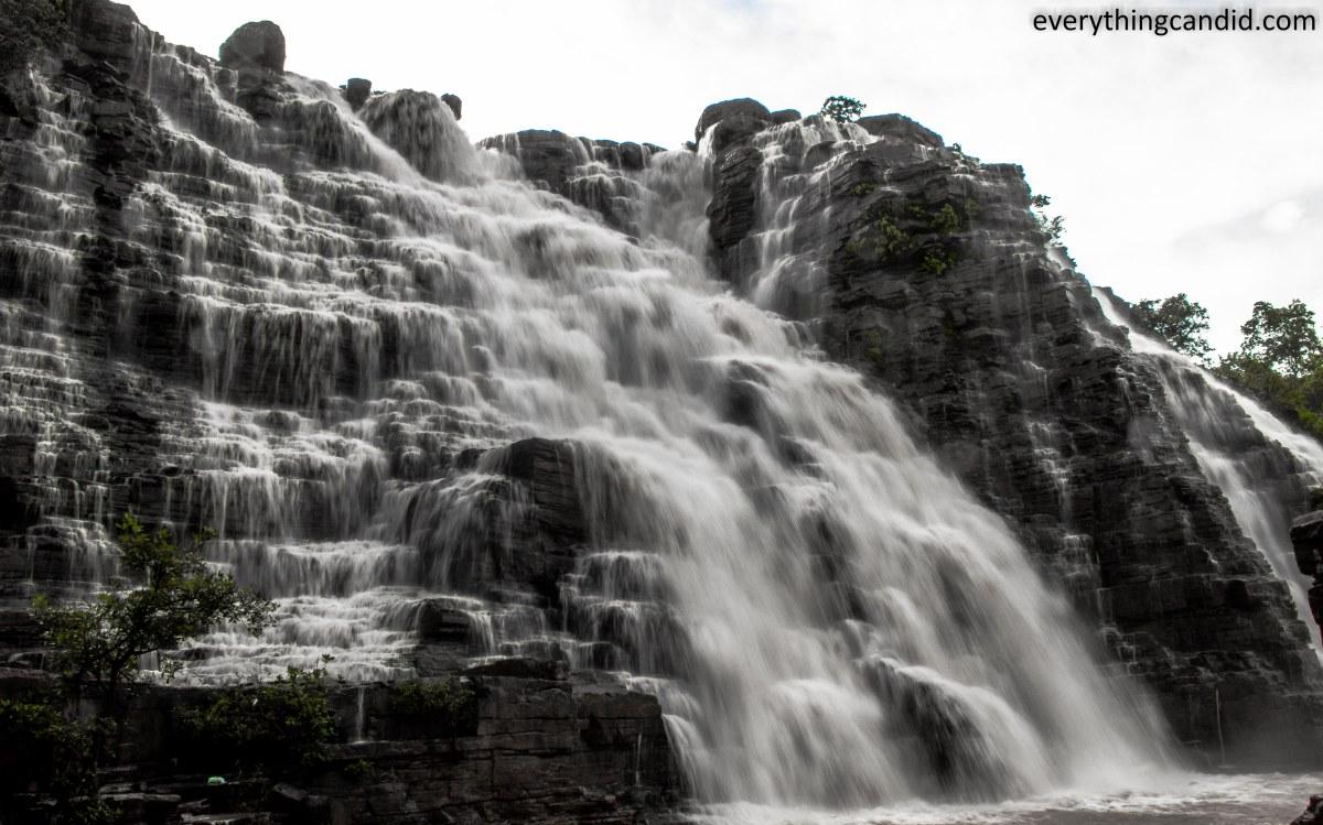 Tirathgarh Water Fall inside Kanger Valley National Park