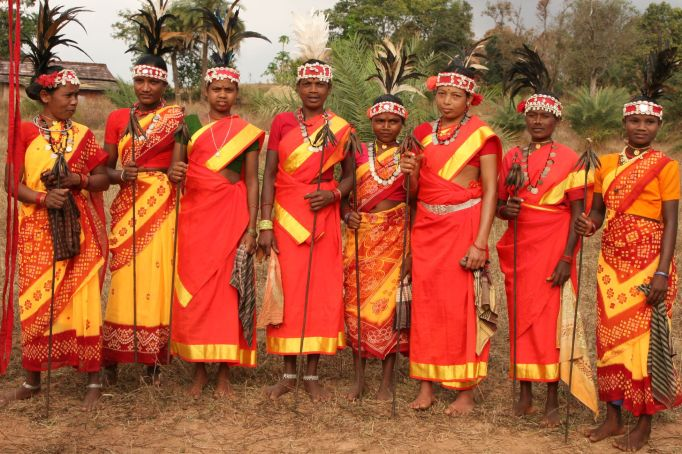 Tribals of Chhattisgarh. Photo credit: Chhattisgarh Tourism Board