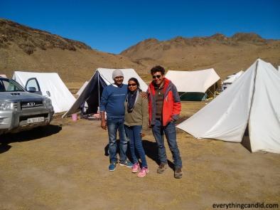 With Mr. Bishen Thakur