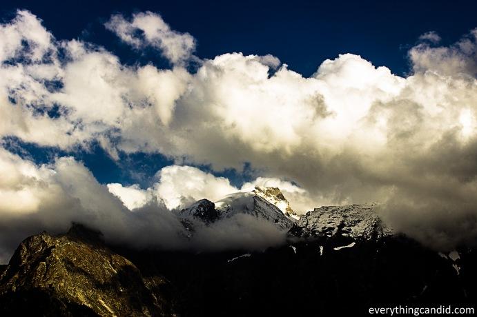 Kinner Kailash Range from Kalpa