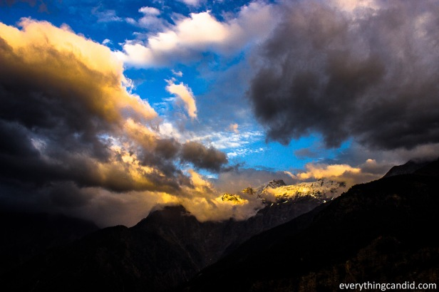 Golden Hour shot from Kalpa