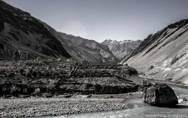 Serene Spiti River life line of this Trans-Himalayan region