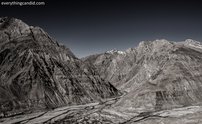 Place where Pin Valley meets with Spiti Valley!