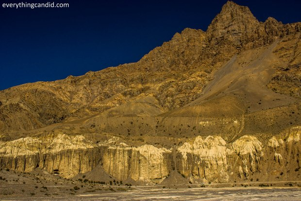 It looks as if God is also lost in spiti and still busy in creating the world!