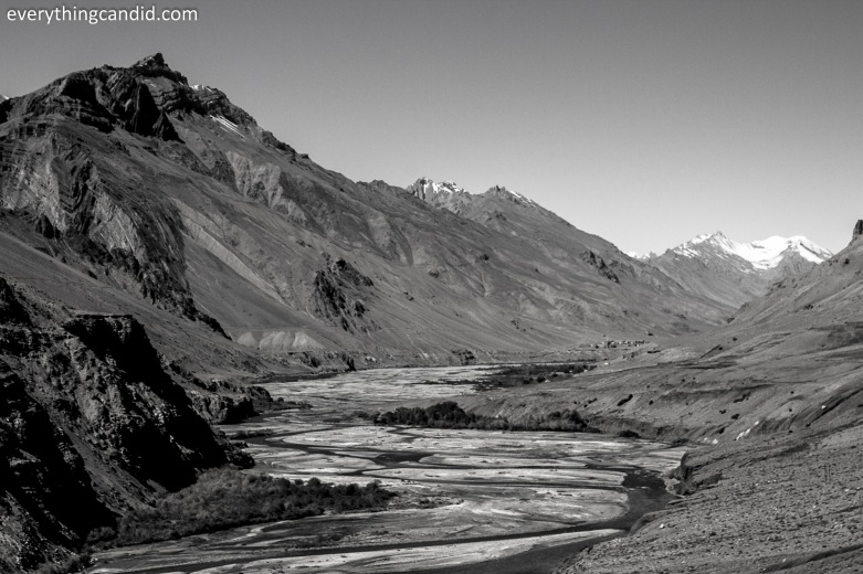 Spiti Valley on the way to Kaza.