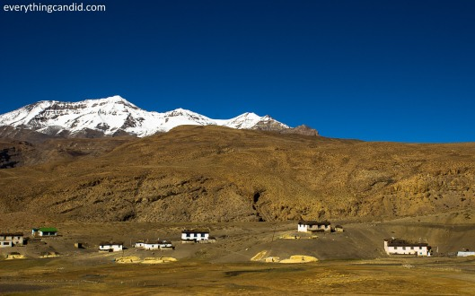 Small Hamlet along Spiti River!