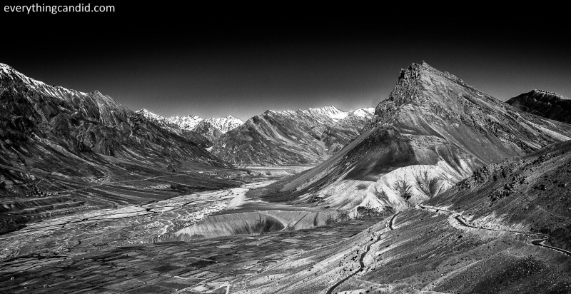 Spiti Valley as seen from Key Monestary!