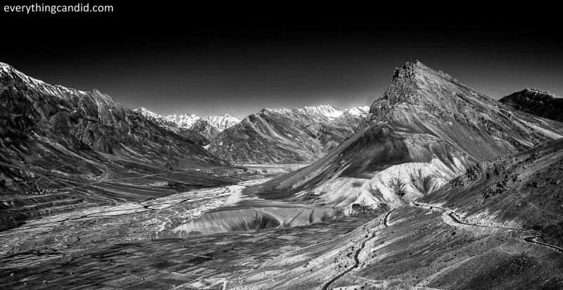 Spiti Valley as seen from Key Monestary!