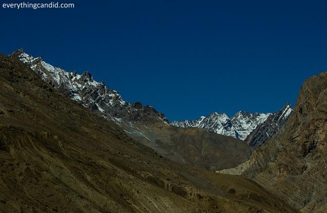 Snow Capped Himalyan Peaks!