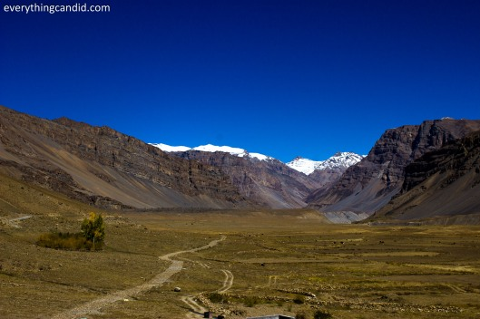 Road to Kunzum Pass from Kaza!