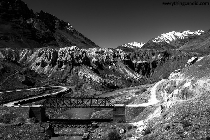 Bridge over Spiti!