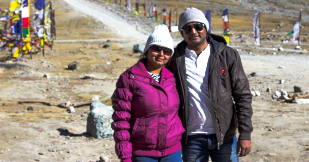 At Kunzum Pass!