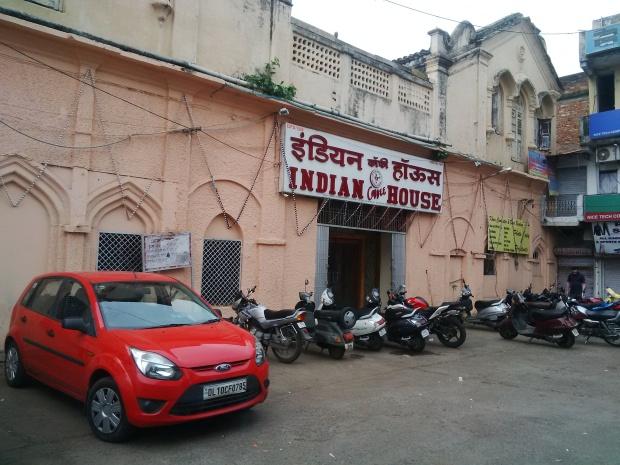 Indian Coffee House in Jabalpur.