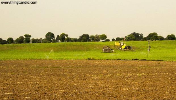 Rural Landscapes from Madhya Pradesh Road to Bhedaghat near Jabalpur.