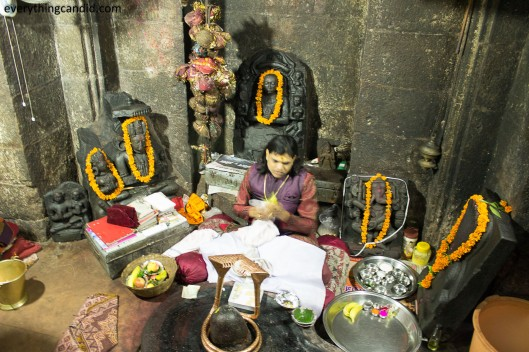 Sanctum Sanctorum of Bhoram Deo Temple, Chhattisgarh, Inida: A Rare Picture. ROad trip in Chhattisgarh.