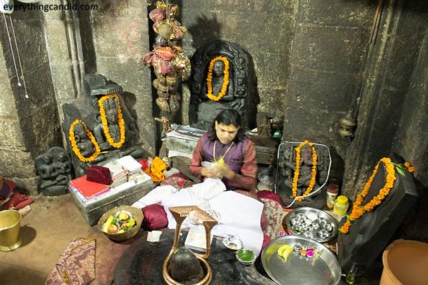 Sanctum Sanctorum of Bhoram Deo Temple, Chhattisgarh, Inida: A Rare Picture. ROad trip in Chhattisgarh.