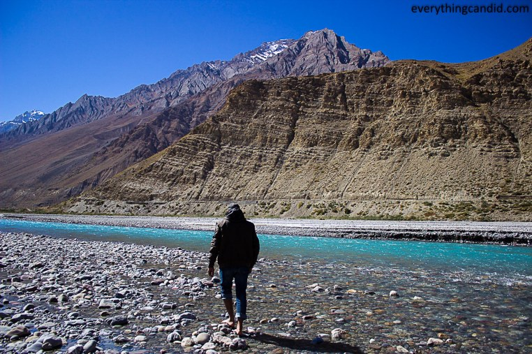 Spiti River, Walking, ROad Trip