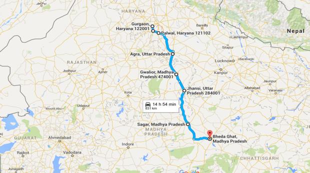 Road Trip, Bhedaghat,