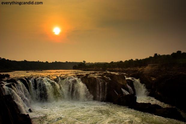 Jabalpur, Water fall, Narmada, Dhanuadhar water fall, Madhya Pradesh, Bhedaghat