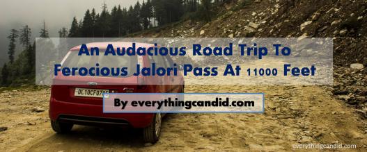 Jalori Pass