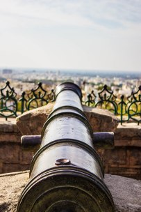 Canons outside Uparkot