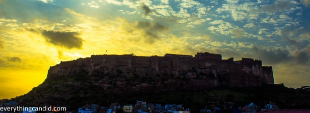 View of Mehrangarh from Indique-1