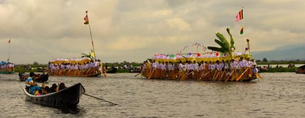 Inle Lake Festival, Myanmar, Shan State
