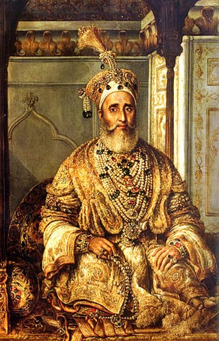 Bahadur Shah Zafer Painting