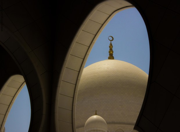 Sheikh Zayed Grand Mosque - world's eighth largest mosque. A vision of Sheikh Zayed the father of UAE