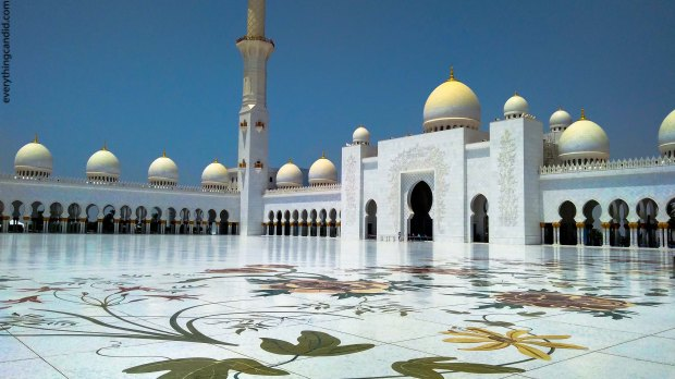 Sheikh Zayed Mosque is most visited tourist attraction of Abu Dhabi