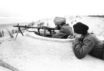 "Atlantikwall, Soldaten der Legion ""Freies Indien"""